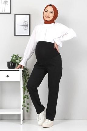 Tesettür Dünyası Siyah Hamile Kot Pantolonu Tsd22052