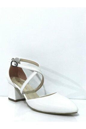 PUNTO Kadın Topuklu Kemerli Ayakkabı 462072
