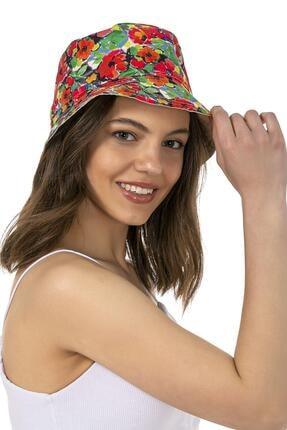 Y-London Unisex Çift Taraflı Karışık Desenli Bucket Şapka 14031