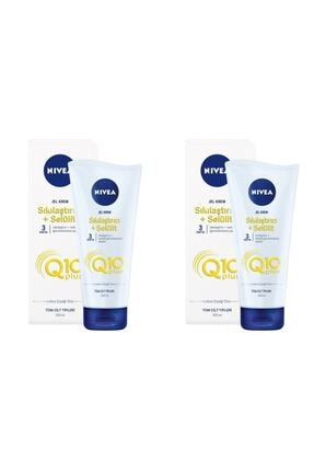 Nivea Q10 Plus Sıkılaştırıcı Selülit Jel Kremi 200 ml 2 Adet