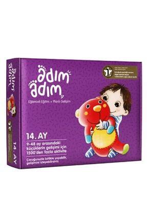 Adım Adım Yayınları Adım Adım Bebek Eğitim Seti 14.ay