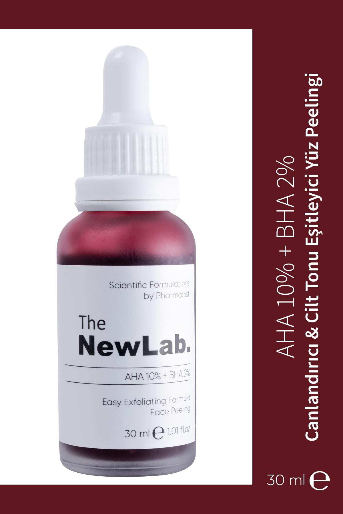 The NewLab Canlandırıcı & Cilt Tonu Eşitleyici Yüz Peeling Serum 30 Ml (aha 10% + Bha 2%) 1