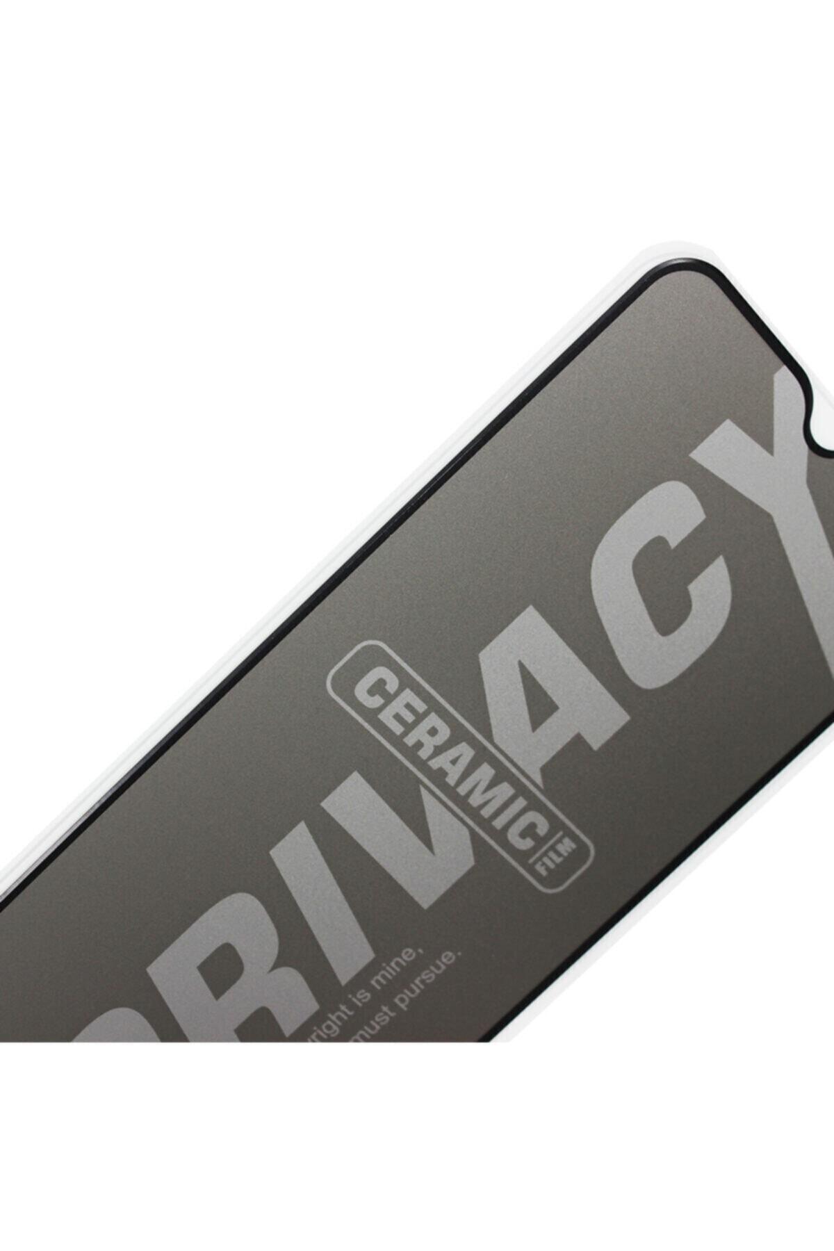 EPRO Xiaomi Redmi Note 8 Pro Gizlilik Filtreli Privacy Mat Seramik Hayalet Ekran Koruyucu Yandan Görünmez 2