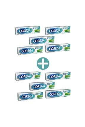 Corega Super Naneli Diş Protezi Yapıştırıcı Krem 40 gr 10 Adet