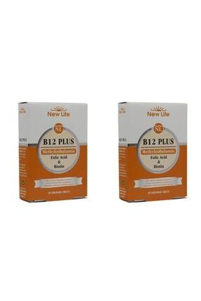 New Life B12 Plus 60 Dilaltı Tablet 2 Adet