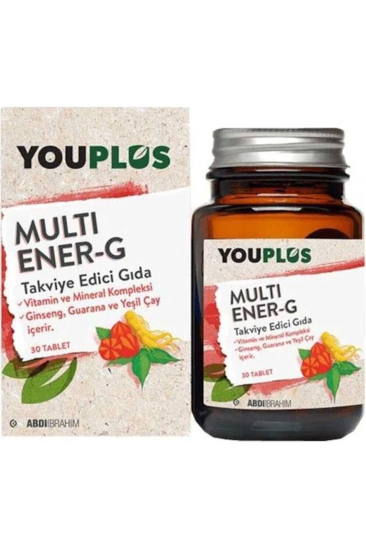 Youplus Multi Ener-g Multivitamin 30 Tablet-1 Adet 1