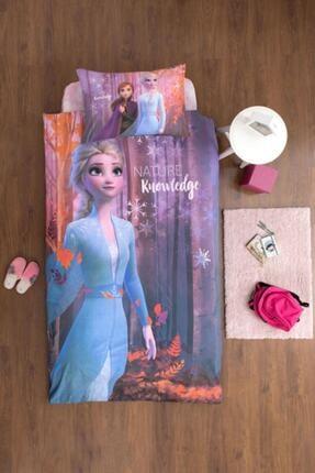 Özdilek Frozen Nature Tek Kişilik Disney Lisanslı Çocuk Nevresim Takımı Pembe