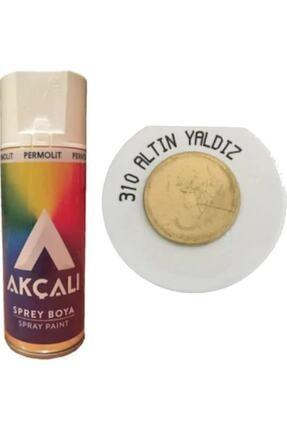Permolit Akçalı Altın Yaldız Gold Sprey Boya 400 ml
