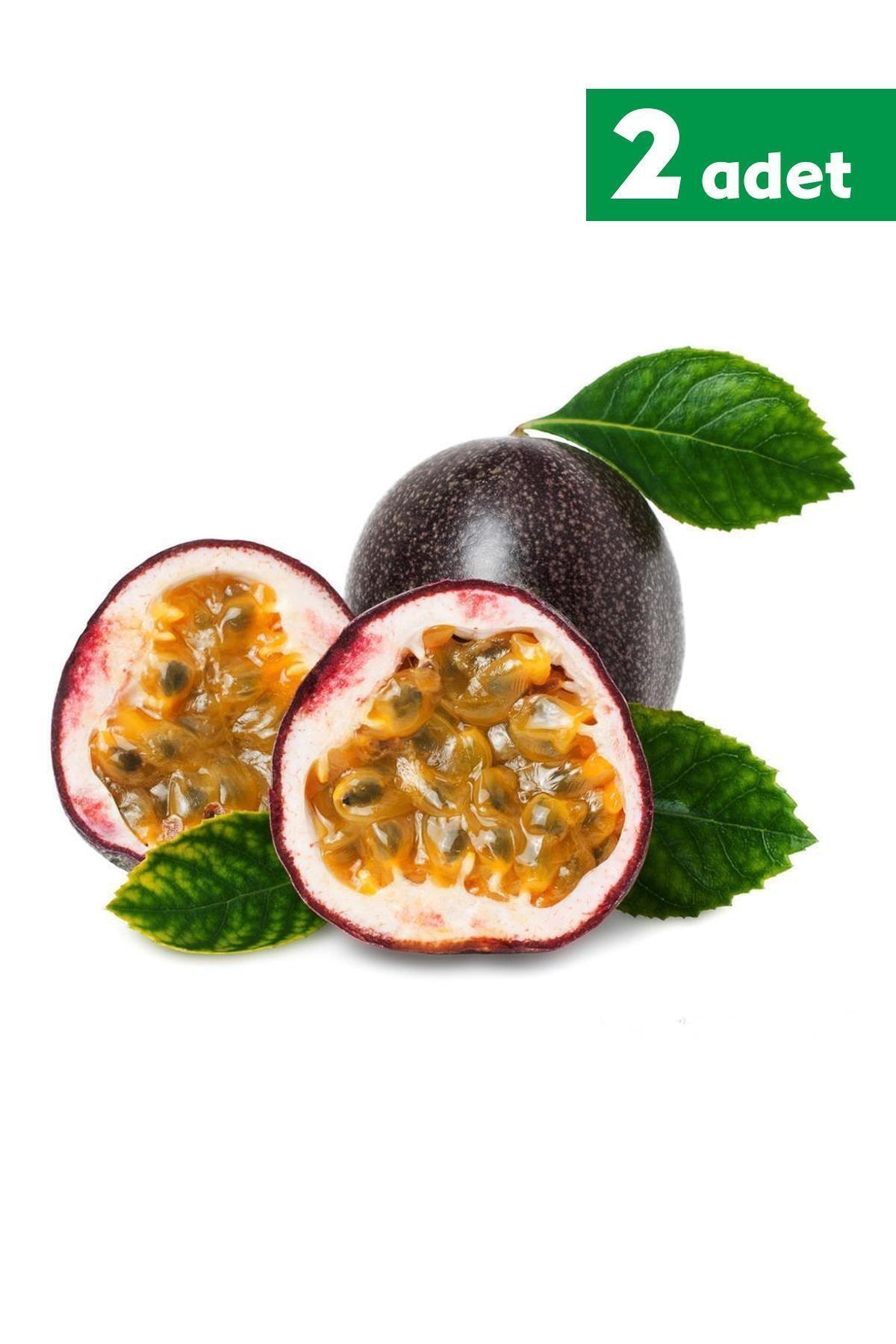 TROPİK SEPETİ Çarkıfelek (pasiflora) Meyvesi - 2 Adet 1