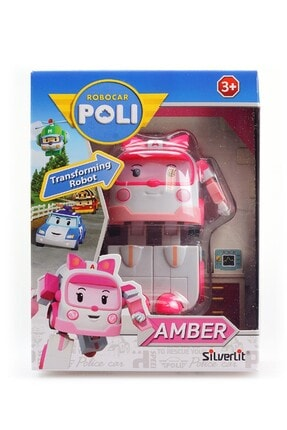 POLI Robocar Poli Transformers Robot Figür Amber