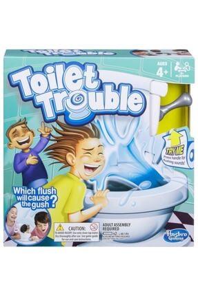 Hasbro Gaming Toilet Trouble Sifonu Çek - Hasbro C0447 Lisanslı Ürün