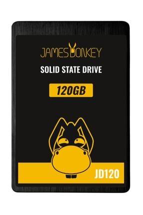 "James Donkey Jd120 120gb 2.5"" 3d Nand 510mb-440mb/sn Ssd Disk - 3 Yıl Birebir Değişim Garantisi"