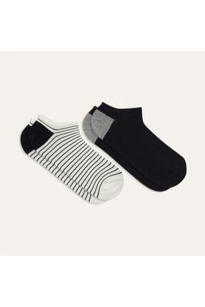 Mudo Ikili Çizgili Çorap