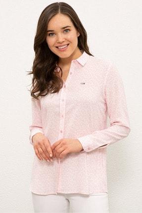 U.S. Polo Assn. Pembe Kadın Gömlek G082SZ004.000.1268266