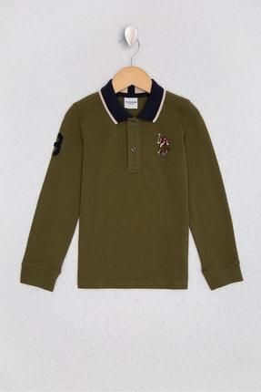 U.S. Polo Assn. Yesil Erkek Çocuk Sweatshirt