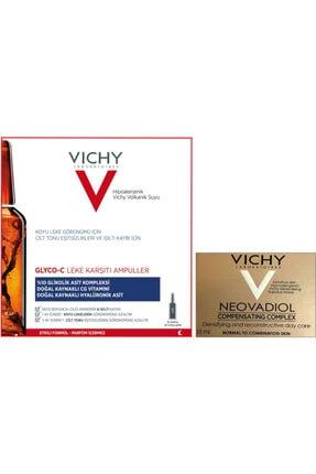 Vichy Vıchy Glyco-c Leke Karşıtı 10 Ampul + Vıchy Neovadıol Compensatıng Complex 15 Ml