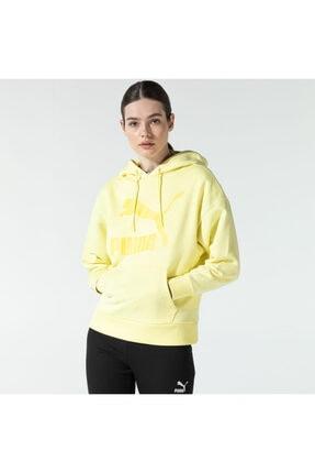 Puma Kadın Sarı Sweatshirt