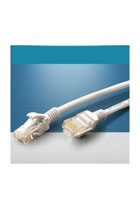 versatile Modem Bilgisayar Kablosu 50 Metre Internet Kablosu Cat 6 Ethernet Kablo Uçları Takılı Test Edilmiş