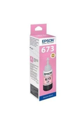 EPSON T673 Açık Kırmızı Şişe Mürekkep Kartuş C13t67364a