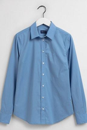 Gant Kadın Mavi Slim Fit Gömlek 4350022