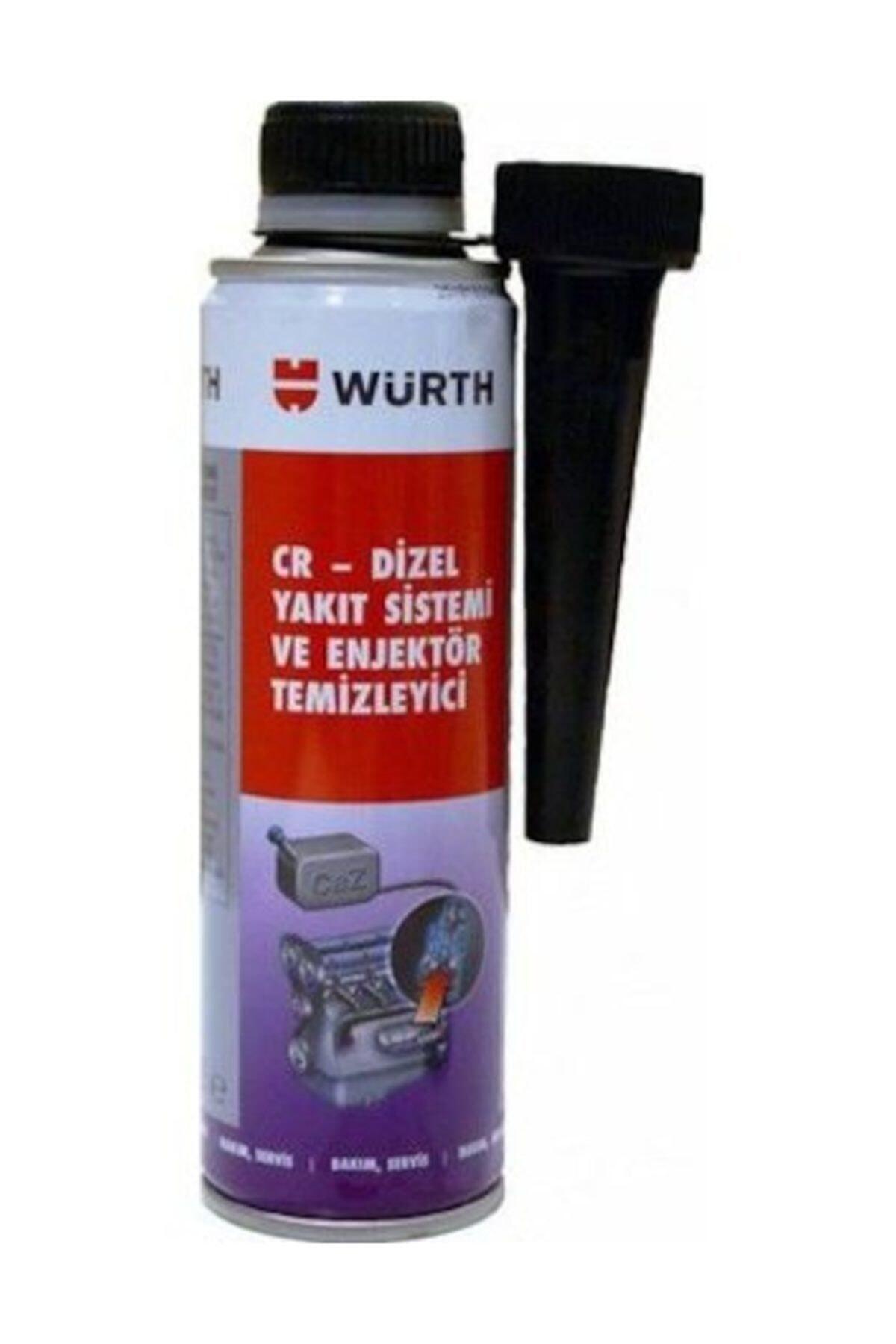 AÇIK OTOMOTİV Würth Dizel Yakıt Sistemi Ve Enjektör Temizleyici 300ml 1
