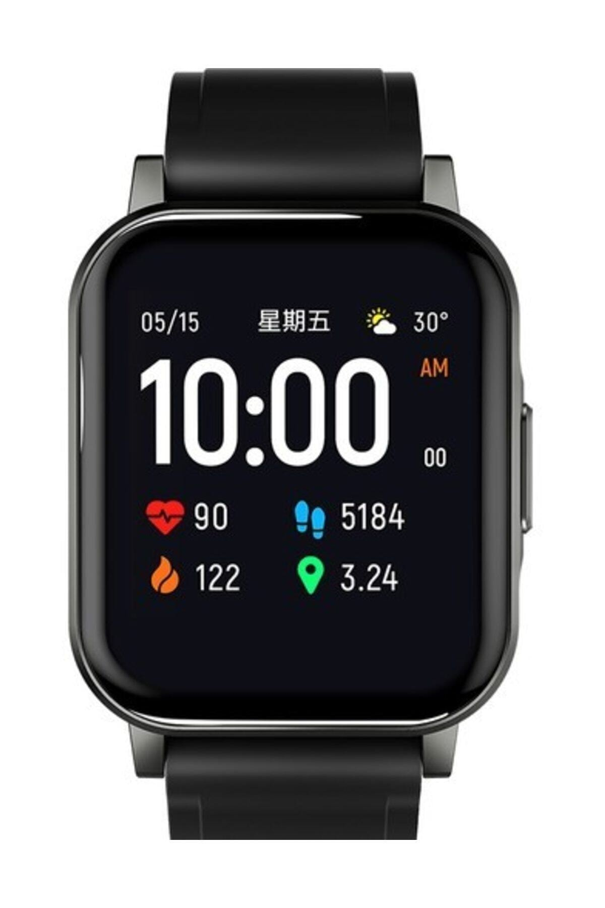 Haylou Ls02 Akıllı Saat, Ios Ve Android Uyumlu, Siyah 2