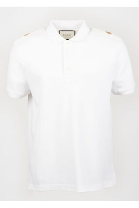 Gucci Erkek Beyaz T-shirt