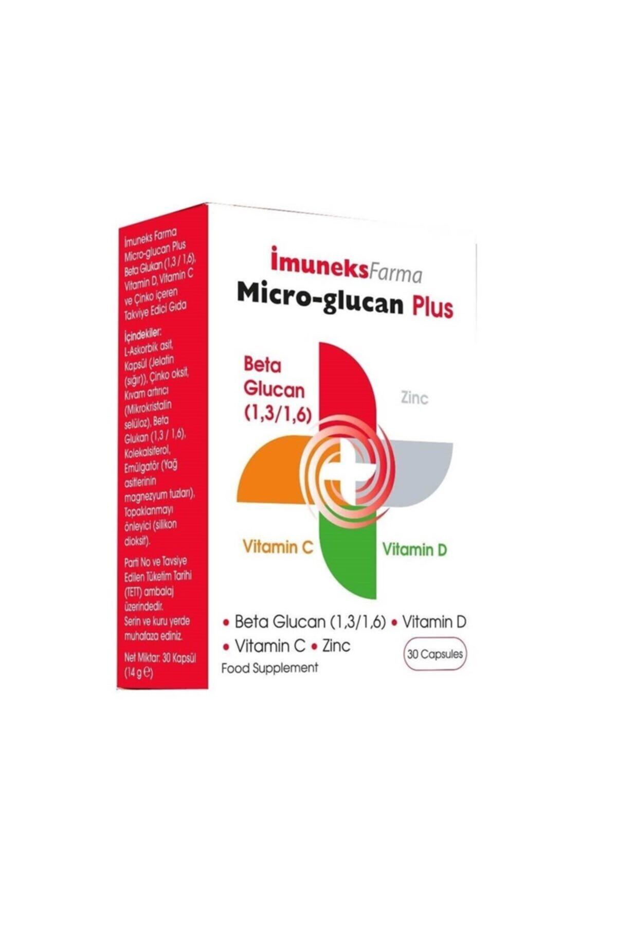 Imuneks Micro-glucan Plus 30 Kapsül 1