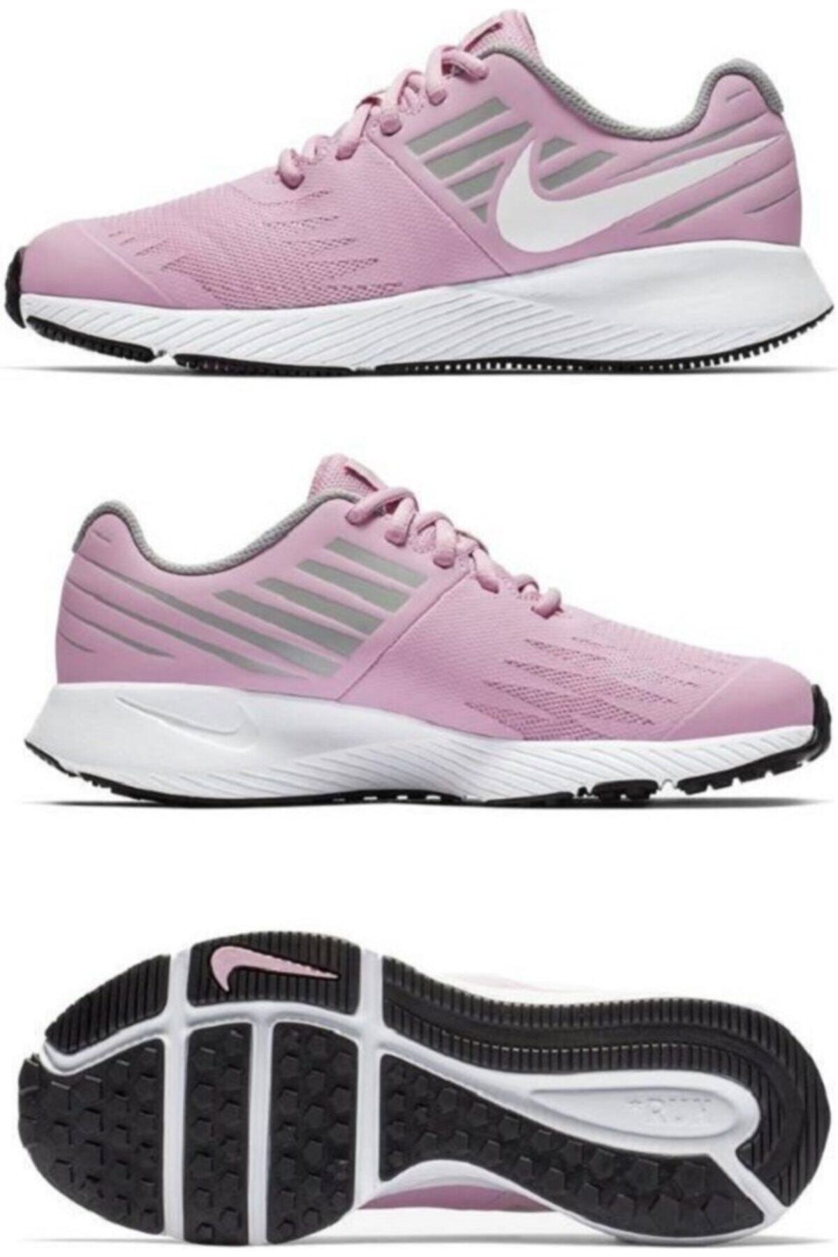 Nike Kadın Pembe Star Runner {gs} Spor Ayakkabı  907257-602 1