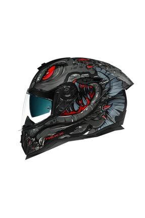 Nexx Mat Siyah-Kırmızı Sx.100r Abısal Kask