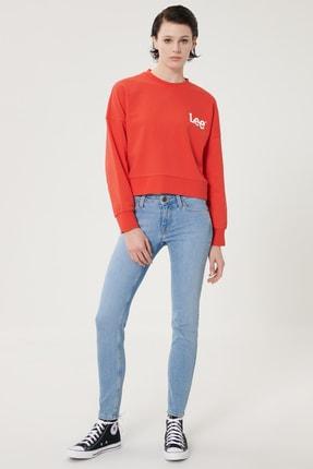 Lee Kadın Açık Mavi Scarlett Skinny Fit Denim Esnek Jean Kot Pantolon