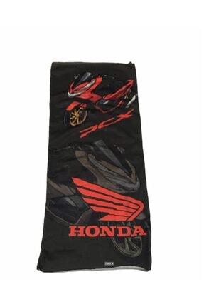 Gogo Honda Pcx Kırmızı Buff Bandana Boyunluk