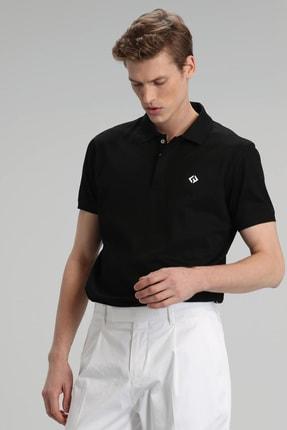 Lufian Jons Spor Polo T- Shirt Siyah