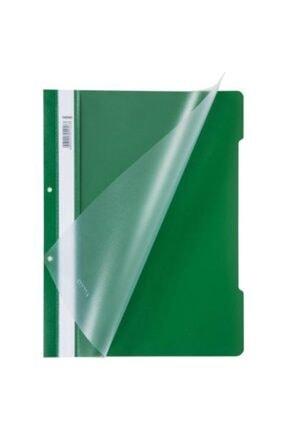 Noki Telli Dosya Plastik 50'li Paket Yeşil