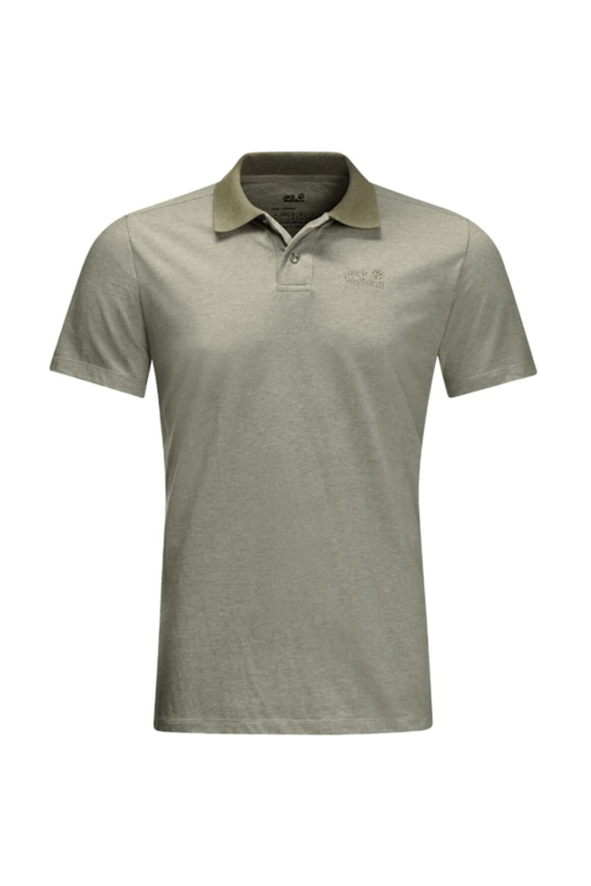 Jack Wolfskin Pokut Polo M Erkek Polo T-shirt 1