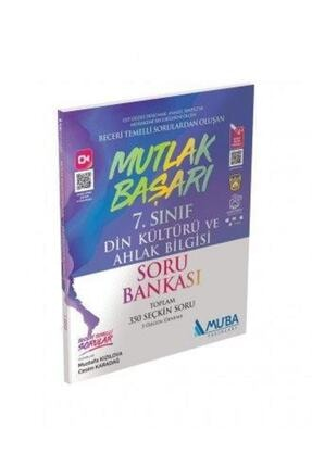 Muba Yayınları 7.sınıf Mutlak Başarı Din Kültürü Ve Ahlak Bilgisi Soru Bankası