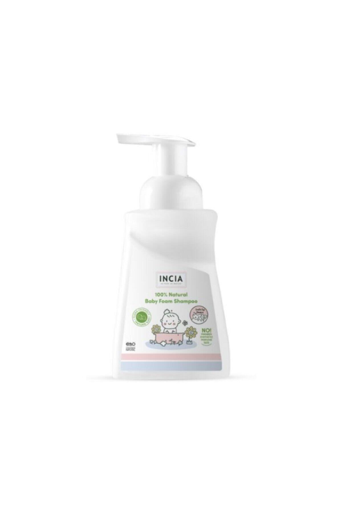 Incia %100 Doğal Bebek ve Çocuk Köpük Şampuanı 200ml 1