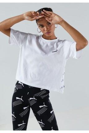 Puma AMPLIFIED Beyaz Kadın T-Shirt 101119449