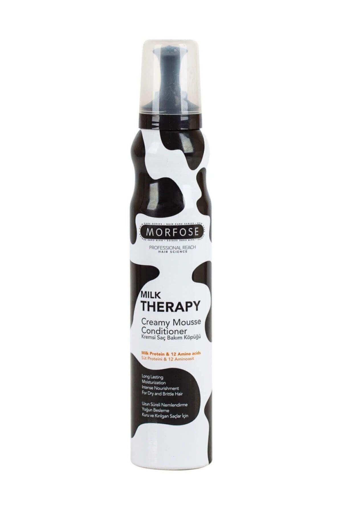 Morfose Saç Bakım Köpüğü 200ml Milk Terapy 1