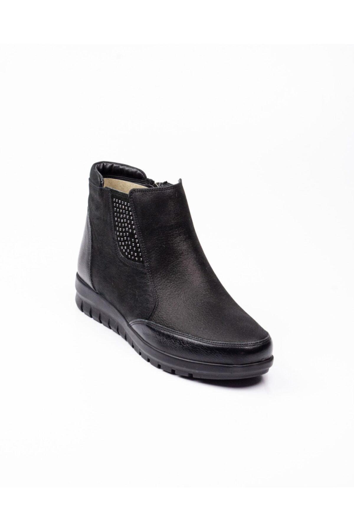Polaris 92.101083.Z Siyah Kadın Comfort Ayakkabı 100573783 2
