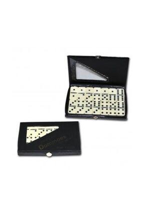 Star Oyun Star Melamin Büyük Domino Seti Çantalı