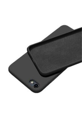 Sunix Apple Iphone 7 - 8 - Se 2020 Içi Kadife Lansman Silikon Kılıf Siyah