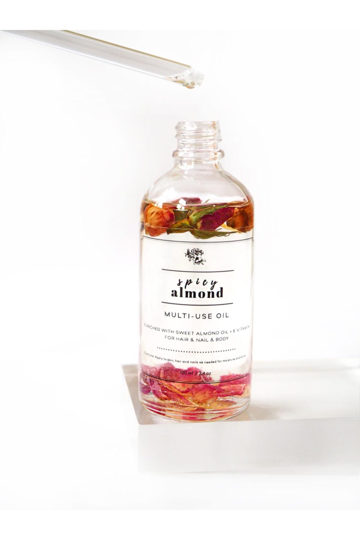 Pelcare Spicy Almond Dry Multiuse Oil 1