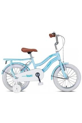 Ümit Stitch 1641 Girl 16 Jant V Fren Çocuk Bisikleti Mavi