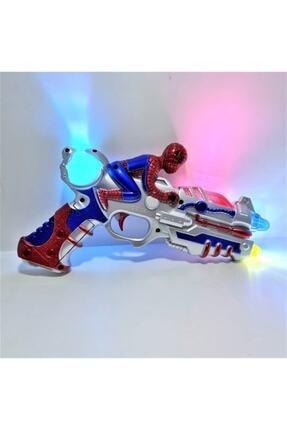 CAN OYUNCAK Örümcek Adam Işıklı Renkli Oyuncak Silah
