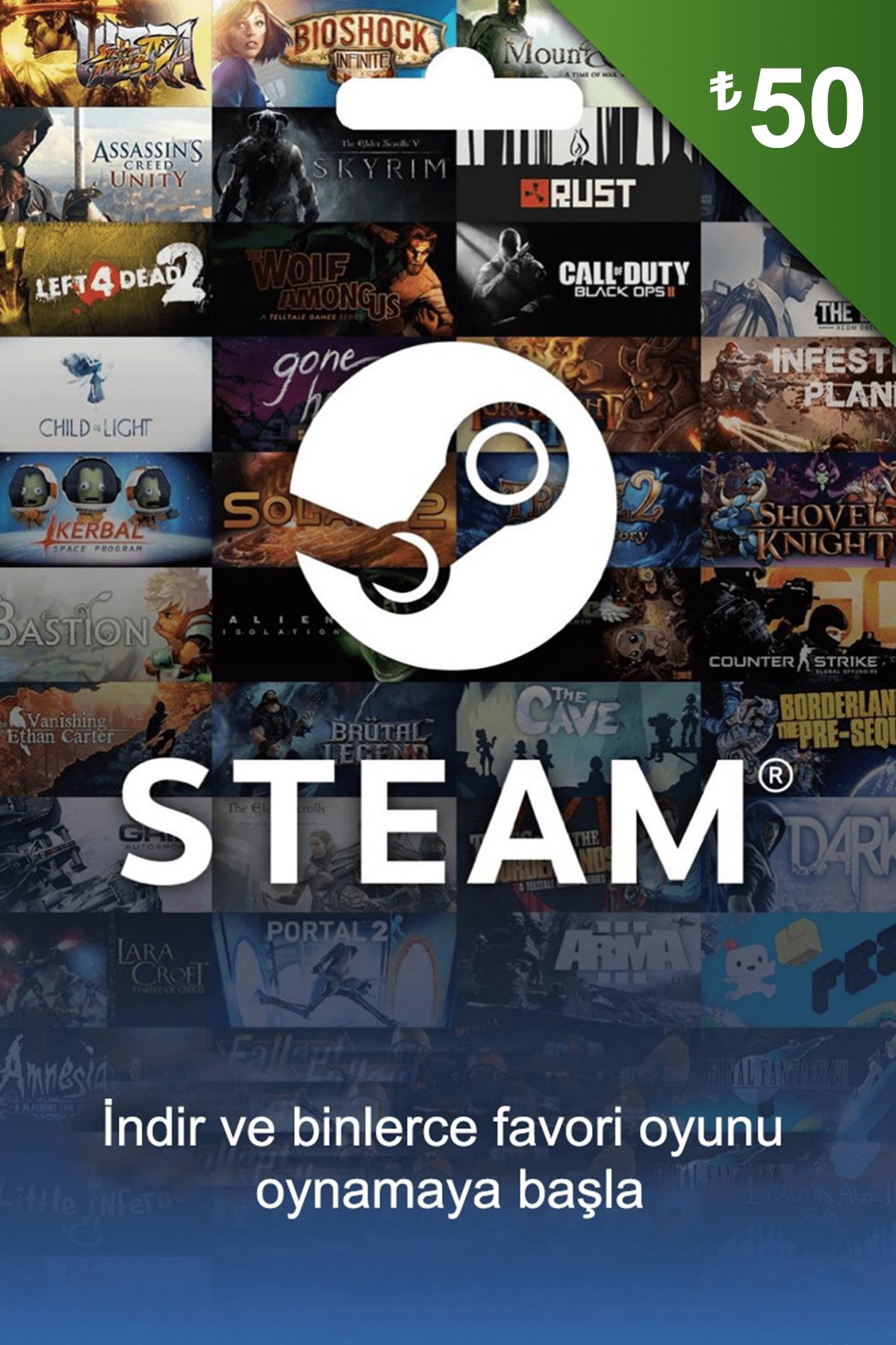 Steam 50 Tl Steam Kodu
