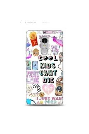 EXCLUSIVE Xiaomi Redmi Note 4 Cool Kids Desenli Kılıf
