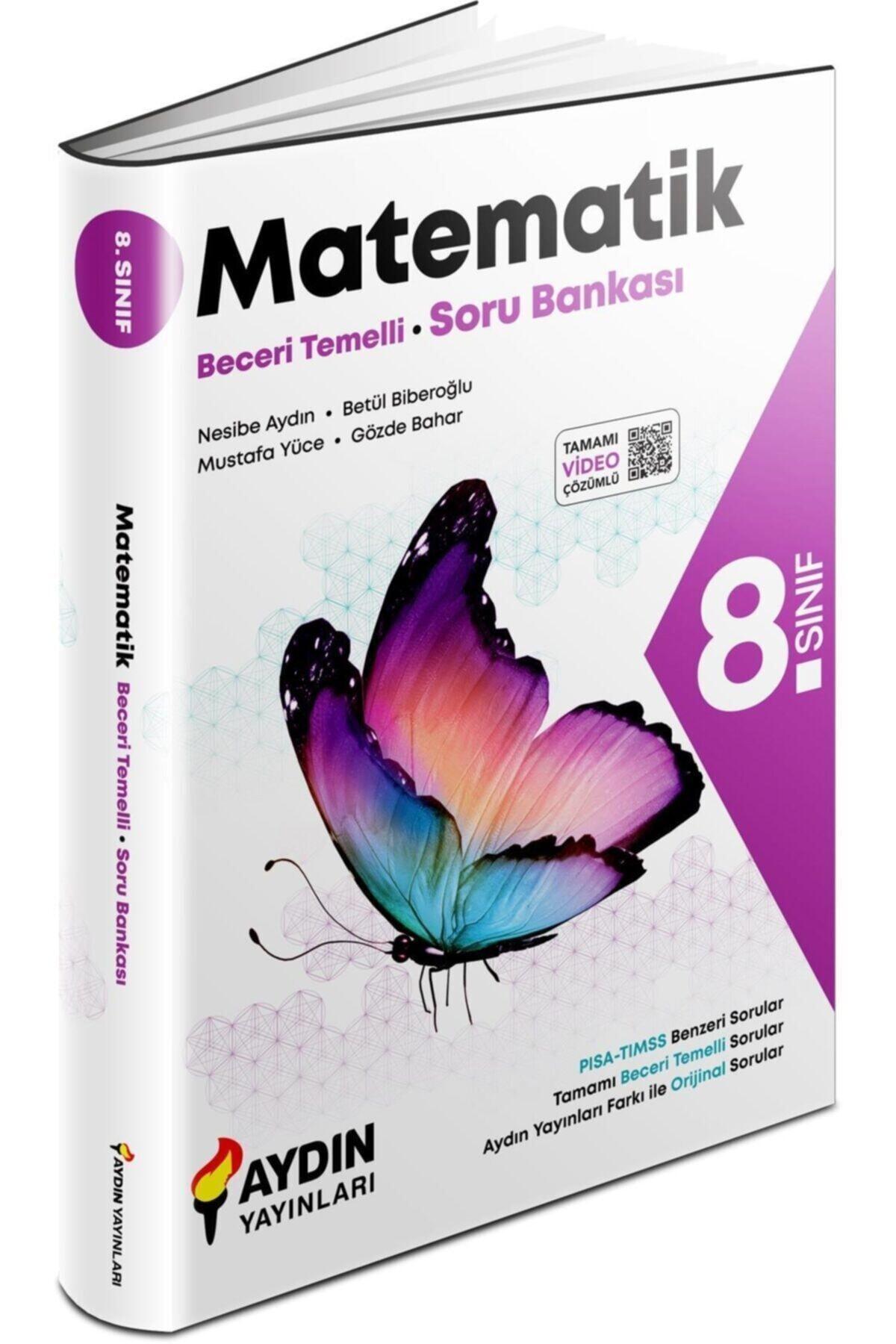 Aydın Yayınları 8. Sınıf Matematik Beceri Temelli Soru Bankası 1
