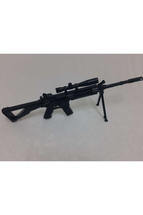 CAZİBE Boncuklu Lazerli Oyuncak Plastik Çatal Ayaklı Keskin Nişancı Tüfeği