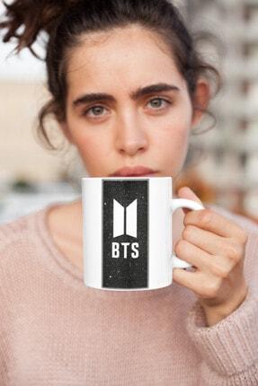 Kio Kupa Müzik Bts K-pop Müzik Grubu 7 Baskılı Kupa Beyaz Porselen Mug